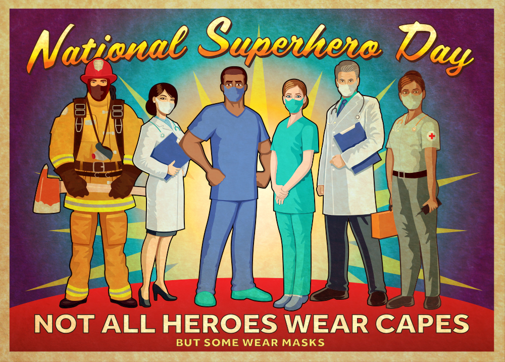 National Superhero Day | PMG